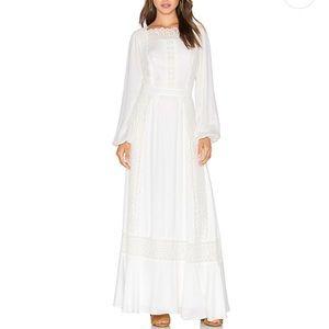 NWT MAJORELLE Open Back Prairie Dress S